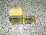 Colmans Mustard Tin And Contents Opened Paper Cover 1970's - Vintage Retro And Vinyl - 7