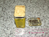 Colmans Mustard Tin And Contents Opened Paper Cover 1970's - Vintage Retro And Vinyl - 8