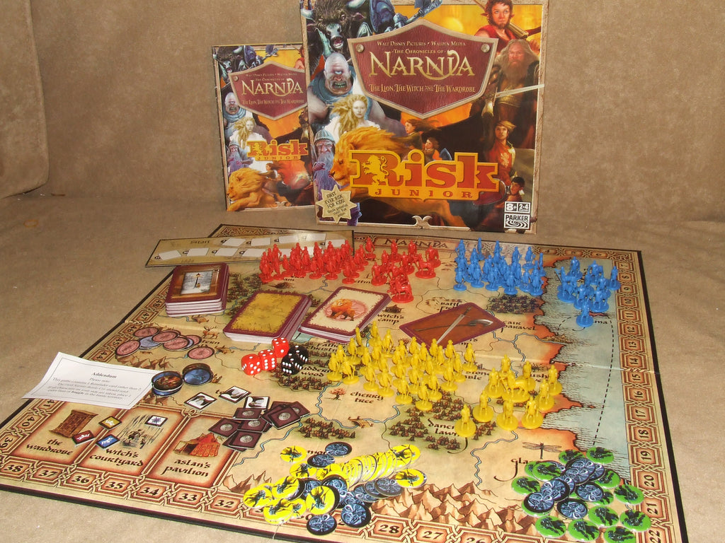 The Chronicles Of Narnia Risk Junior Boxed And Complete - Vintage Retro And Vinyl - 1