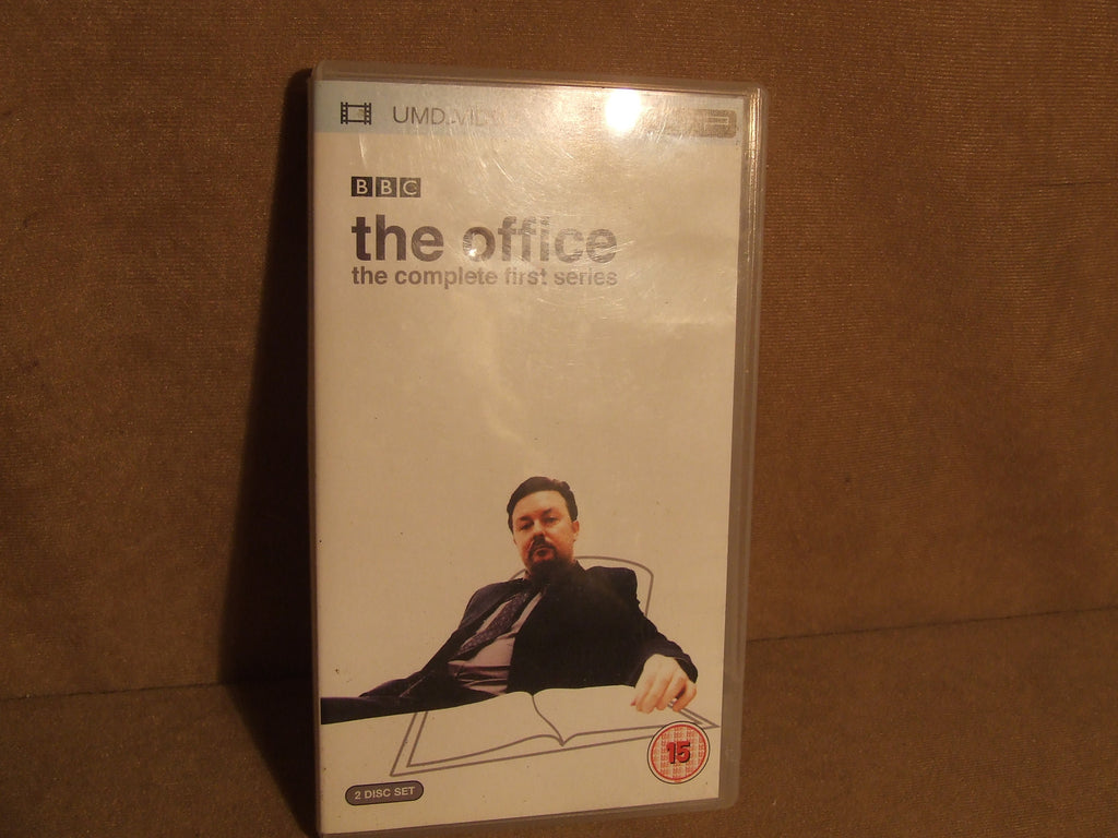 The Office The Complete First Series 2 x UMD Age 15+ Gervais Freeman - Vintage Retro And Vinyl - 1