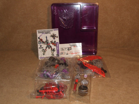 Transformers Construct Bots Megatron Ultimate Class E1:01 Sealed Parts Hasbro - Vintage Retro And Vinyl - 1