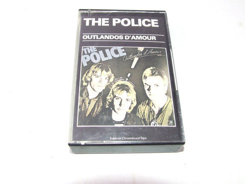 The Police Outlandos D'Amour Cassette