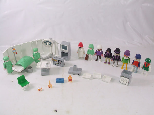 Playmobil Geobra Hospital Equipment & Figures Vintage