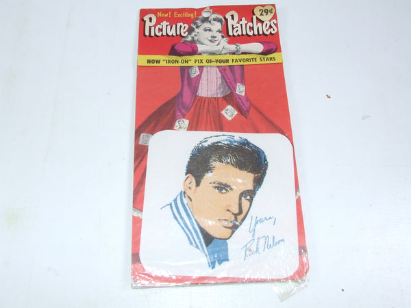 Vintage Picture Patches Rick Nelson Still Sealed Original From 1950's/60's
