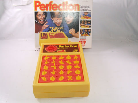 Perfection Game By Action GT Boxed Complete Vintage 1980s