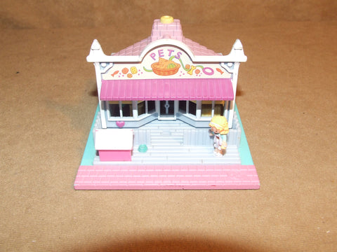 Polly Pocket Pet Shop Pollyville aka Pollys Pet Shop Tiny World Bluebird #940271 - Vintage Retro And Vinyl - 1