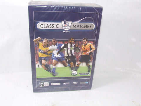 Classic Premier League Matches Volume 1 With 3 x Football DVD's New & Sealed