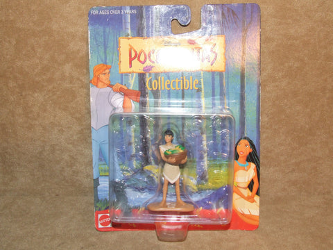 "Disney Pocahontas Figure MOC 3"" Approx 1990's Rare Version - Vintage Retro And Vinyl - 1"