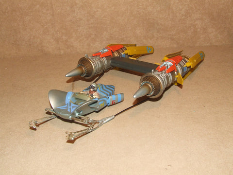 STAR WARS Anakin Skywalker Podracer Hasbro 1999 - Vintage Retro And Vinyl - 1
