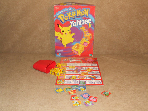 Pokemon Yahtzee Junior Boxed And Complete MB Games - Vintage Retro And Vinyl - 1