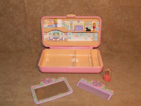 Polly Pocket Hair Play Set - Vintage 1990 - Vintage Retro And Vinyl - 1