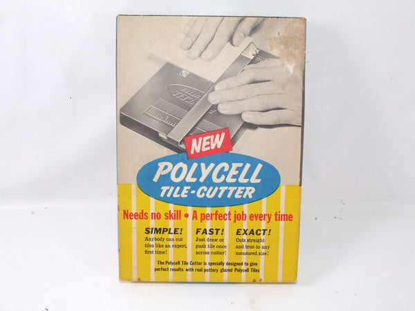Polycell Tile Cutter Vintage Tool In Original Box