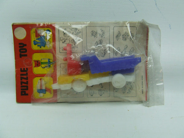 Vintage Lorry Puzzle Toy New Old Shop Stock Vintage Hong Kong Made