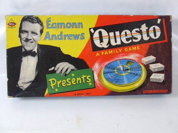 Eamonn Andrews Questo Vintage Family Game