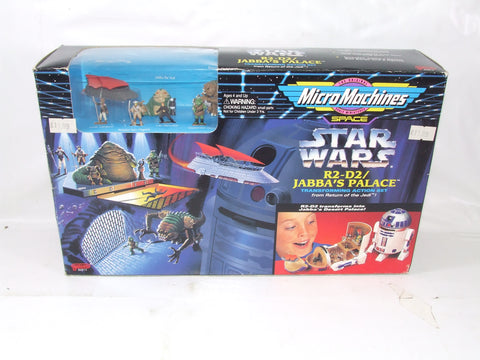 Micro Machines R2-D2/Jabbas Palace Transforming Action Set Star Wars Return Of The Jedi