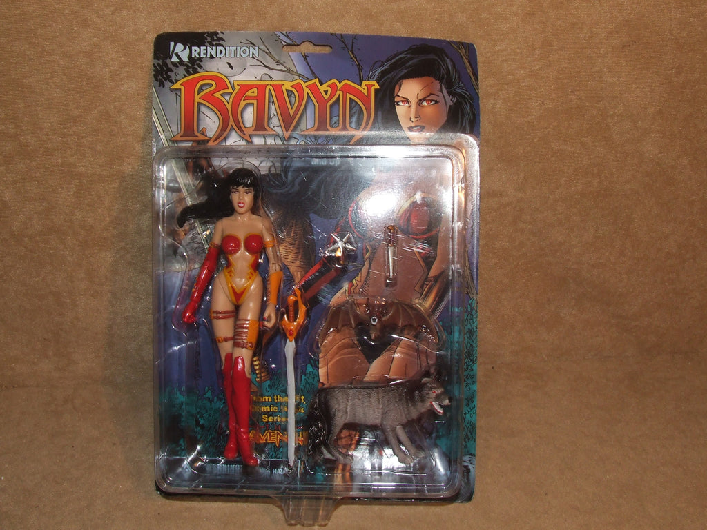 Ravyn Action Figure Leader Of The Ravening Sexy Action Figure BNIB - Vintage Retro And Vinyl - 1