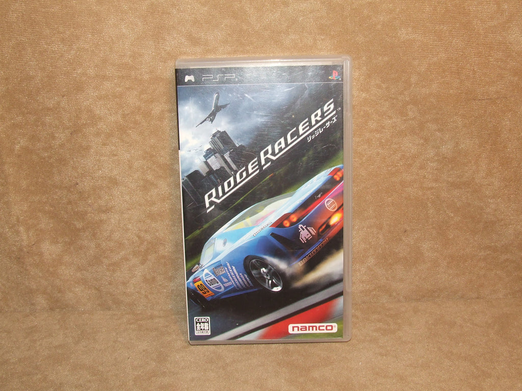 Ridge Racer For Japan Only Sony PSP 2004 - Vintage Retro And Vinyl - 1