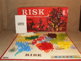 Risk World Strategy Board Game By Parker Boxed And Complete Vintage 1960's