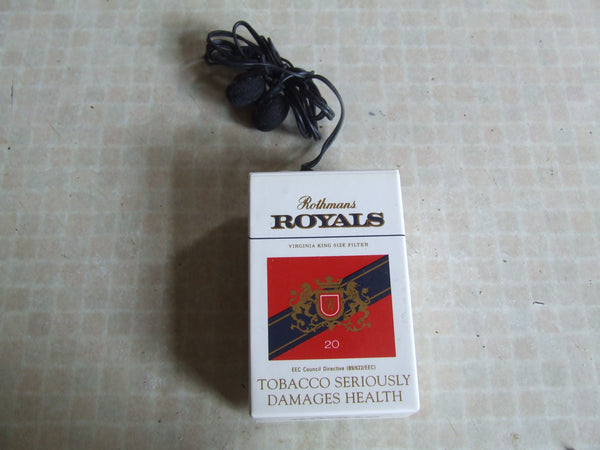 Rothmans Royals Personal Radio In Damaged Box