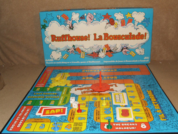 Ruffhouse La Bousculade Board Game By Parker Boxed And Complete Inc Inst 1979 - Vintage Retro And Vinyl - 1