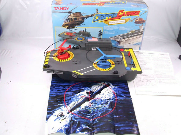 Tandy Chopper Carrier Fully Working Boxed With Instructions & Sub Target