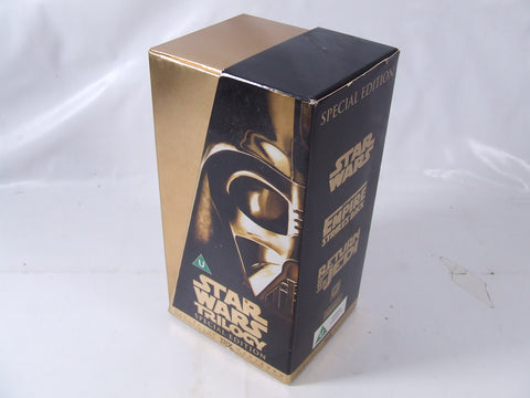 Star Wars Trilogy VHS Special Edition Digitally Remastered THX