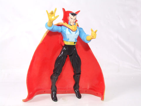 "Doctor Strange 5"" Action Figure With Cape Marvel Rare"