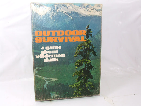 Avlon Hill Book Case Game Outdoor Survival Plus Extras Boxed