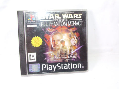 Star Wars Episode 1 The Phantom Menace PS1 Video Game PAL