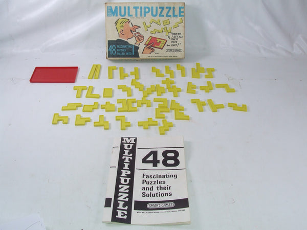 Spears Multipuzzle Game Boxed & Complete With Instructions