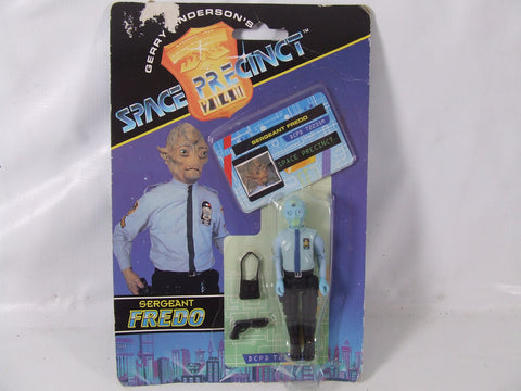 Gerry Anderson's Space Precinct Sergeant Fredo Action Figure New on Card