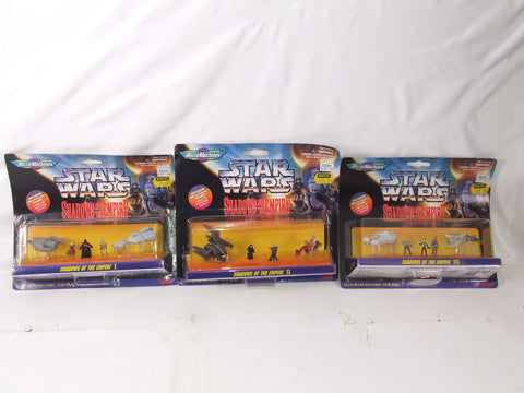 Micro Machines Star Wars Shadows of the Empire I, II & III New