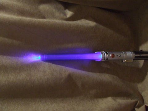 Star Wars Blue Lightsaber Lights And Sounds Hasbro 2009 - Vintage Retro And Vinyl - 1