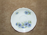 Colclough Bone China 1960's Saucer - Nigella Love In The Mist