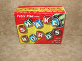 Shakewords Peter Pan Boxed & Complete With Instructions - 1960's - Vintage Retro And Vinyl - 5
