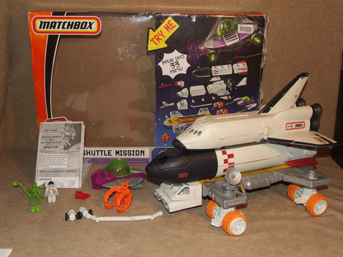 Matchbox Mega Rig Shuttle Mission Boxed With Instructions Incomplete - Vintage Retro And Vinyl - 1