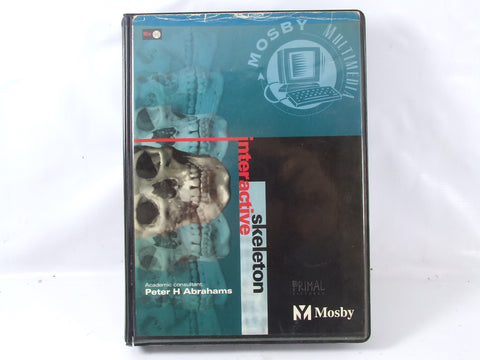 Interactive Skeleton Educational PC CD-ROM Windows 3.1 Peter H Abrahams