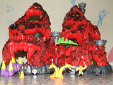 Mighty Max Trapped In Skull Mountain With Figures - Playset - Vintage Retro And Vinyl - 10