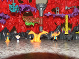 Mighty Max Trapped In Skull Mountain With Figures - Playset - Vintage Retro And Vinyl - 11