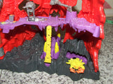Mighty Max Trapped In Skull Mountain With Figures - Playset - Vintage Retro And Vinyl - 8
