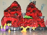 Mighty Max Trapped In Skull Mountain With Figures - Playset - Vintage Retro And Vinyl - 12