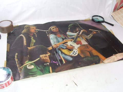 Slade Original 1972 Colour Poster Noddy Jimmy Dave & Don 74 x 50cm