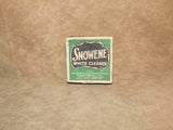 Snowene White Cleaner - Chiswick Polish Co. Boxed - Used - Very Collectable - Vintage Retro And Vinyl - 4