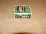 Snowene White Cleaner - Chiswick Polish Co. Boxed - Used - Very Collectable - Vintage Retro And Vinyl - 7