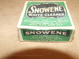Snowene White Cleaner - Chiswick Polish Co. Boxed - Used - Very Collectable - Vintage Retro And Vinyl - 8