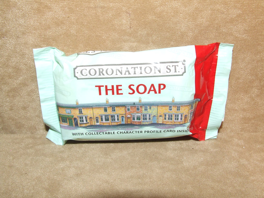 Coronation Street Official Souvenir Soap Bar Collectible With Character Card1999 - Vintage Retro And Vinyl - 1