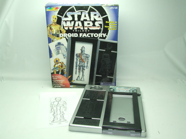 Star Wars Trilogy Droid Factory Complete apart from Pens & Paper Age 5+ 1996