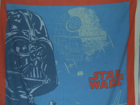 STAR WARS Vintage Single Quilt Cover And Pillow Case Darth Vader - Vintage Retro And Vinyl - 1