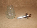 Sugar Dispenser/Shaker 6oz Cut Glass- Boxed - Grace - Vintage Made In Hong Kong - Vintage Retro And Vinyl - 2