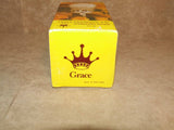Sugar Dispenser/Shaker 6oz Cut Glass- Boxed - Grace - Vintage Made In Hong Kong - Vintage Retro And Vinyl - 5